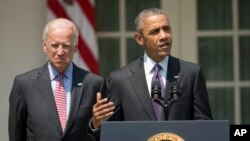 Tổng thống Obama chính thức loan báo một sự tan băng trong quan hệ Mỹ-Cuba tại Vườn Hồng Tòa Bạch Ốc hôm 1/7/2015.