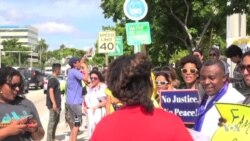 Protestan contra presupuesto del muro