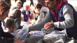 Refugees in Greece Living in Tents Brace for Winter