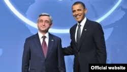 President Obama and President Sargsyan, April 12, 2010