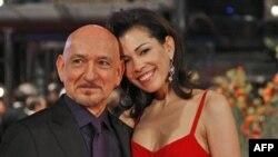 Бен Кингсли с женой Даниэлой (архивное фото)