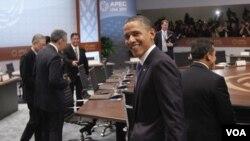 Obama dijo durante una rueda de prensa que otros países tienen que realizar reformas mucho más significativas.