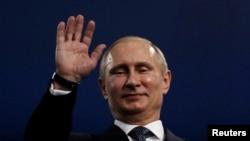 Le président russe Vladimir Poutine, 23 février 2014.