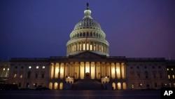 美國國會。