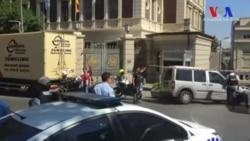 Dolmabahçe Sarayı'nda Polislere Saldırı
