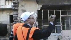 قتل ۲۵ نفر در سوريه همزمان با ديدار ناظران