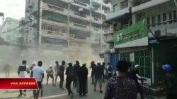 Myanmar: Quân đội củng cố quyền hành, cảnh sát bắn người biểu tình