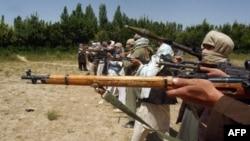 Боевики движения Талибан.