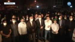 Diyarbakir'da Mescid-i Aksa Protestosu