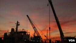 La exportación de petróleo representa el 14% de los ingresos de México.