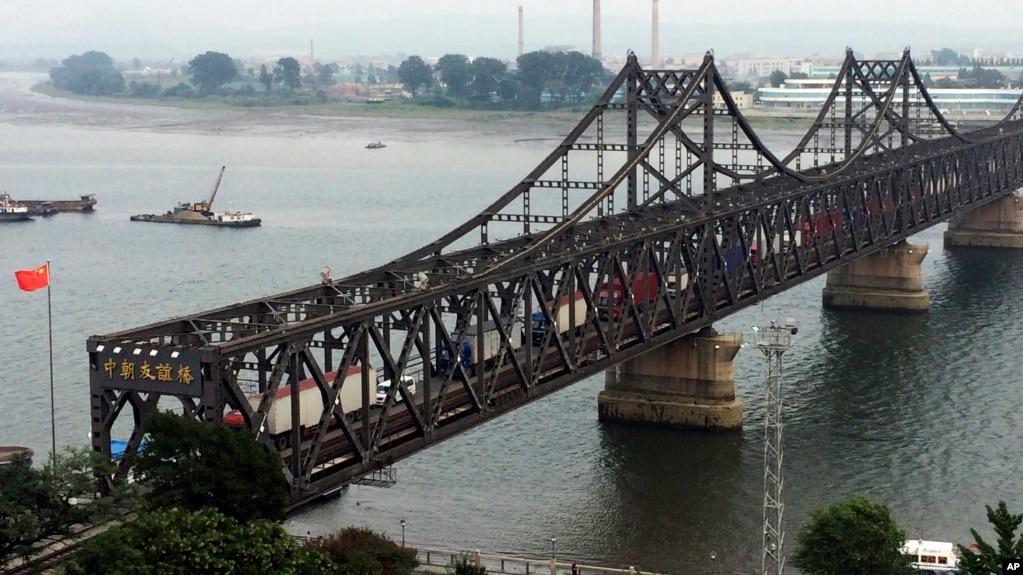中朝友谊桥(资料照)