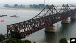 中朝友誼橋(資料照)