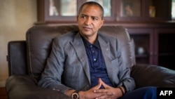 FILE - Democratic Republic of Congo opposition leader Moise Katumbi Chapwe, is pictured during an interview, June 2, 2015 in Lubumbashi.