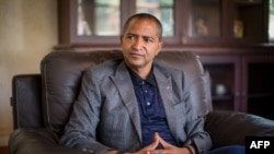 FILE - Moise Katumbi Chapwe, Governor of Democratic Republic of Congo's Katanga province, is pictured during an interview.