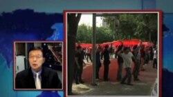 VOA连线:中国民众反日游行平息