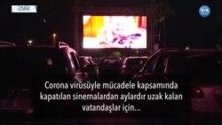 Corona Günlerinde İzmir'de Arabalı Sinema Keyfi