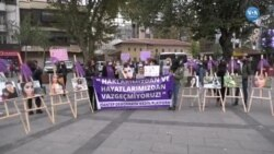 Türkiye'de Kadınlar Şiddete Karşı Yürüdü