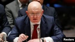 سلامتی کونسل میں روس کے سفیر