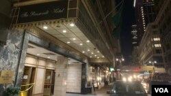 نیویارک میں پی آئی اے کا ملکیتی ہوٹل روزویلٹ ( فائل فوٹو)