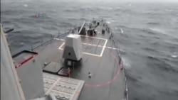 美國軍艦巡航南中國海亞太反應