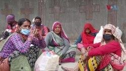 بھارت لاک ڈاؤن: لاکھوں مزدور پیدل اپنے گھروں کی جانب روانہ