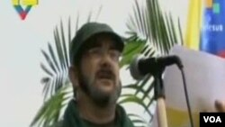 Timoleon Jimenez, yang lebih dikenal dengan sebutan Timochenko, pemimpin baru FARC, Pasukan Bersenjata Revolusioner Kolombia (foto: dok).
