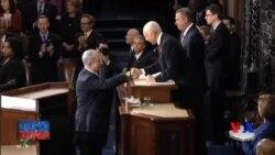 Netanyahu Kongressda so'zlab, Obamadan yanada uzoqlashdi