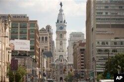 City Hall in Philadelphia, June 20, 2016.