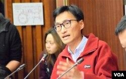 香港立法會議員朱凱迪。(美國之音湯惠芸)