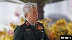 Thượng tướng Bộ Quốc Phòng Việt Nam Nguyễn Chí Vịnh.