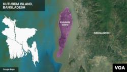 Kutubdia Island, Bangladesh