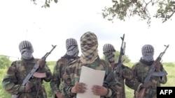 Phát ngôn viên của phe Al-Shabab đọc tuyên bố tại phía nam thủ đô Mogadishu, ngày 19/10/2011