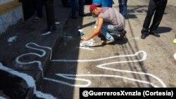 El joven de 14 años fue asesinado cuando trataba de protegerse en medio de una protesta. (Foto: GuerrerosXvnzla]