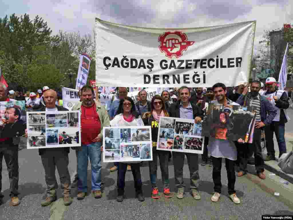 Ankara'da 1 Mayýs gösterileri (Foto: Yýldýz Yazýcýoðlu)