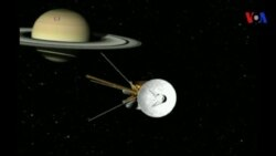 Sonda espacial Cassini se despide
