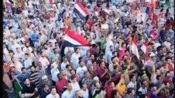 埃及抗議者不顧當局威脅 繼續舉行集會