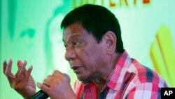 El alcalde de Davao, Filipinas, Rodrigo Duterte, habría sido elegido presidente filipino.