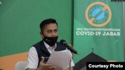Kepala Dinas Kesehatan Provinsi Jawa Barat sekaligus Wakil Sekretaris Gugus Tugas Covid-19 Jabar, Berli Hamdani. (Foto: Humas Jabar)