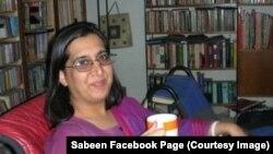 Aktivis HAM Pakistan Sabeen Mehmud, tewas ditembak sekelompok pria bersenjata di Karachi (Foto: dok).