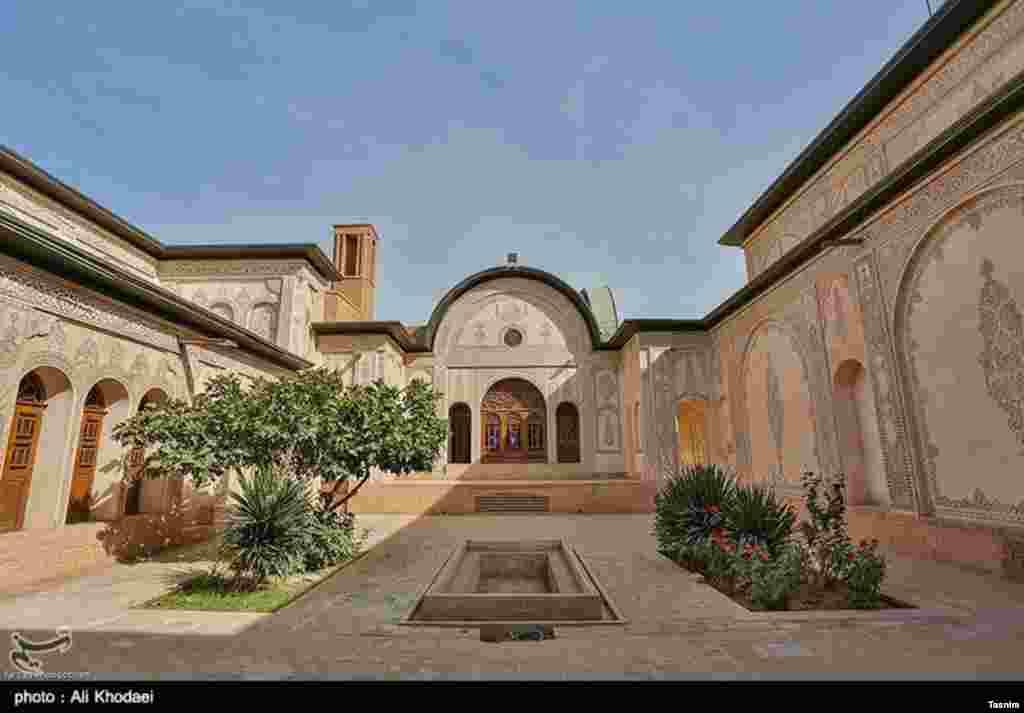 خانه تاریخی طباطباییها در کاشان عکس: علی خدایی