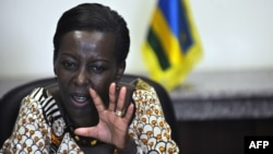 Rwandan Foreign Minister Louise Mushikiwabo (file)