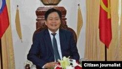Mr. Bounkong Sihavong, ລັດຖະມົນຕີກະຊວງສາທາລະນະສຸກ