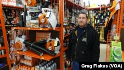 Josh Kness, a sales clerk at the Mount Carroll Home Center in Mount Carroll, Ill., has helped farmers find what they need for the past 15 years.