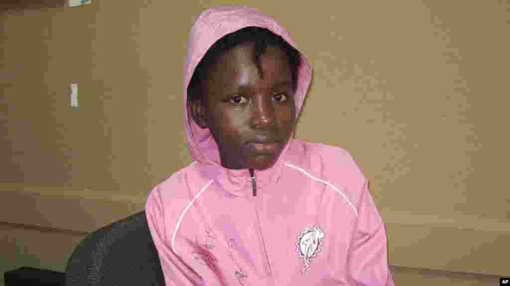 Haiti Quake survivor Nathana Gerome
