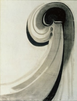 This charcoal drawing from 1915 is part of a rare collection of abstractions featured in a Georgia O'Keeffe exhibit at The Phillips Collection in Washington, DC.