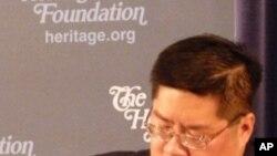 傳統基金會中國政治和安全問題研究員成斌