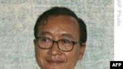 Ông Sam Rainsy bị tuyên án 2 năm tù tội nhổ cột mốc biên giới
