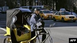 Washington'da Bisiklet Taksiler Revaçta