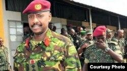 Meja Jenerali Muhoozi Kainerugaba, mkuu wa kikosi maalum SFC