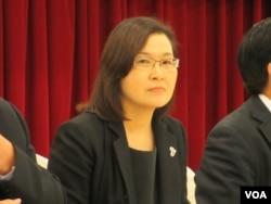 台灣日本關係協會秘書長張淑玲